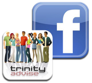 Facebook Fan page Trinity Advise
